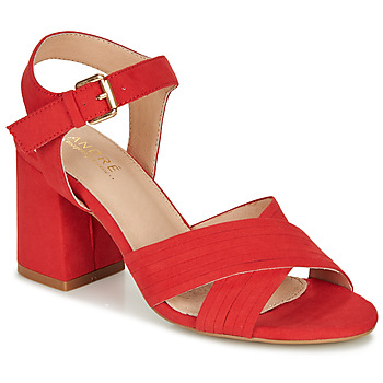 kengät Naiset Sandaalit ja avokkaat André JACYNTH Red