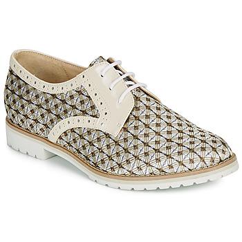 kengät Naiset Derby-kengät André DERIVEUR Beige