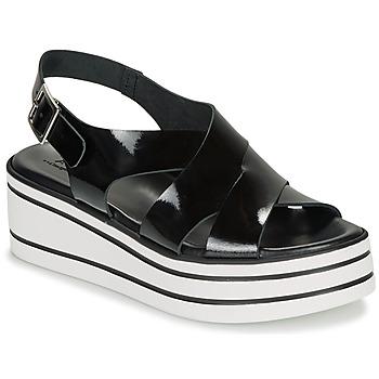 kengät Naiset Sandaalit ja avokkaat André ELVIA Black