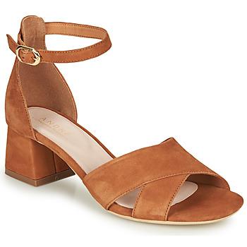 kengät Naiset Sandaalit ja avokkaat André JAYLA Camel