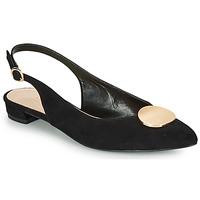 kengät Naiset Balleriinat André JACQUOTTE Musta