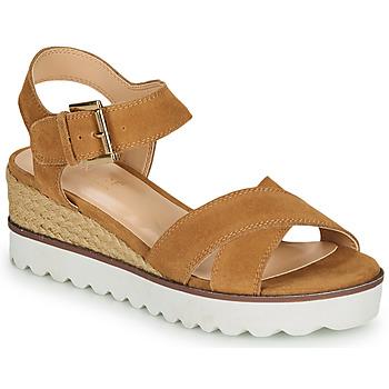 kengät Naiset Sandaalit ja avokkaat André EMILIA Camel