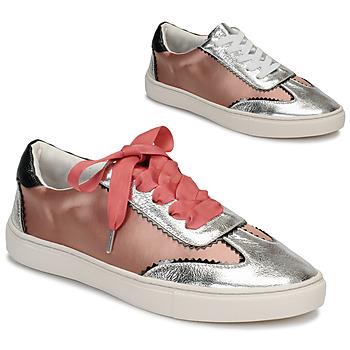 kengät Naiset Matalavartiset tennarit André LA VOLTIGEUSE Pink