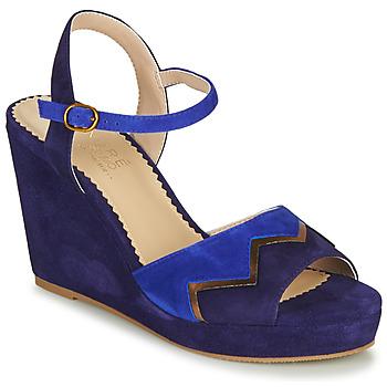kengät Naiset Sandaalit ja avokkaat André LA JONGLEUSE Blue