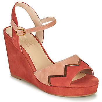 kengät Naiset Sandaalit ja avokkaat André LA JONGLEUSE Vaaleanpunainen