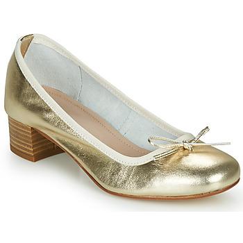 kengät Naiset Balleriinat André POEME Kulta