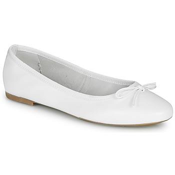 kengät Naiset Balleriinat André PIETRA White