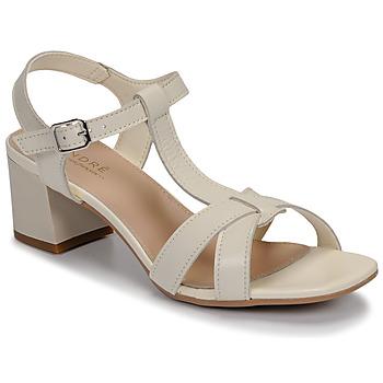 kengät Naiset Sandaalit ja avokkaat André JOSEPHINE White