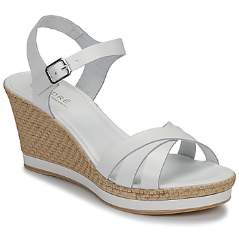 kengät Naiset Sandaalit ja avokkaat André MYRIAM White