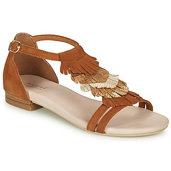 kengät Naiset Sandaalit ja avokkaat André BRIANA Camel