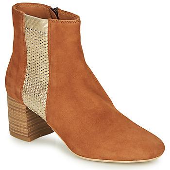 kengät Naiset Bootsit André BINDY Camel