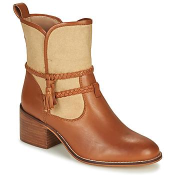 kengät Naiset Nilkkurit André BROOK Camel