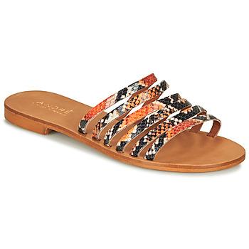 kengät Naiset Sandaalit ja avokkaat André BRAIDINE Orange