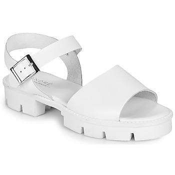 kengät Naiset Sandaalit ja avokkaat André ABRICOT White