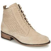 kengät Naiset Bootsit André GODILLINE Beige