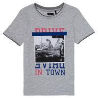 vaatteet Tytöt Lyhythihainen t-paita Ikks AMELIE Harmaa