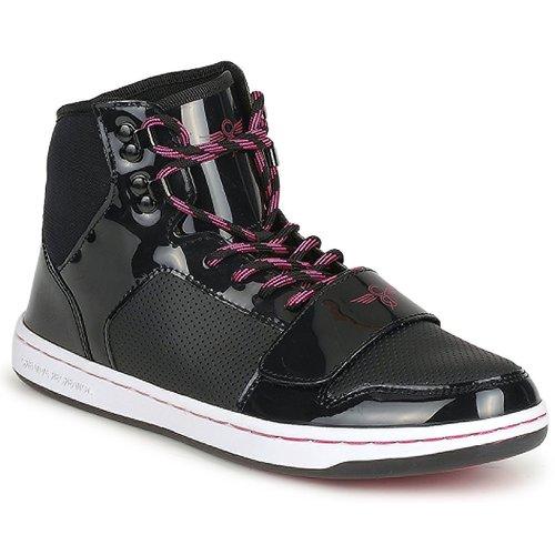 kengät Naiset Korkeavartiset tennarit Creative Recreation W CESARIO Black