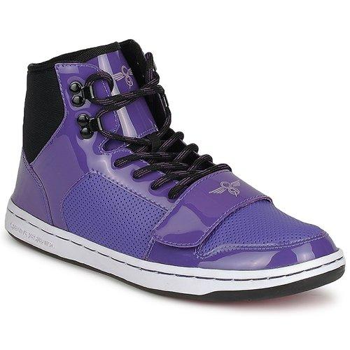 kengät Naiset Korkeavartiset tennarit Creative Recreation W CESARIO Violet