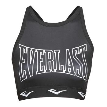 vaatteet Naiset Urheiluliivit Everlast DURAN Black / White