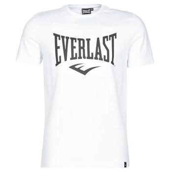 vaatteet Miehet Lyhythihainen t-paita Everlast EVL LOUIS SS TS White