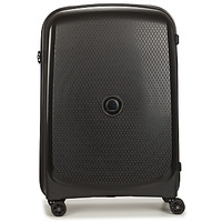 laukut Matkalaukut Delsey 72 CM 4 DOUBLE WHEELS TROLLEY CASE Black