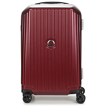 laukut Matkalaukut Delsey SECURITIME FRAME 55 CM DOUBLE WHEELS CABIN Red