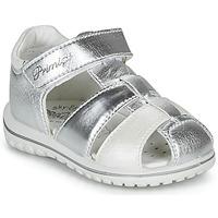 kengät Tytöt Sandaalit ja avokkaat Primigi 5365555 Hopea