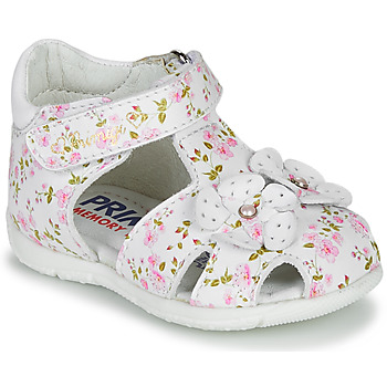 kengät Tytöt Sandaalit ja avokkaat Primigi  White / Pink