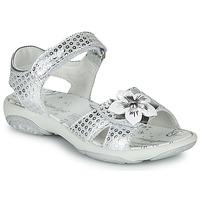 kengät Tytöt Sandaalit ja avokkaat Primigi  Hopea