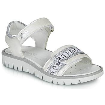 kengät Tytöt Sandaalit ja avokkaat Primigi 5386700 White / Hopea