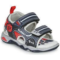 kengät Pojat Sandaalit ja avokkaat Primigi 5450544 Laivastonsininen / Punainen