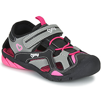 kengät Tytöt Urheilusandaalit Primigi 5460011 Black / Pink