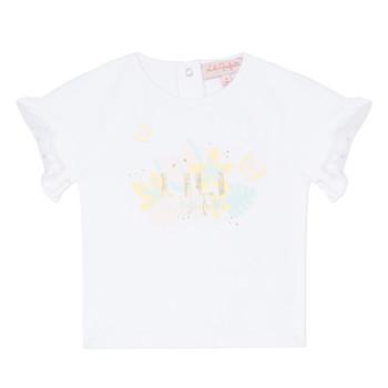 vaatteet Tytöt Lyhythihainen t-paita Lili Gaufrette NALIS White