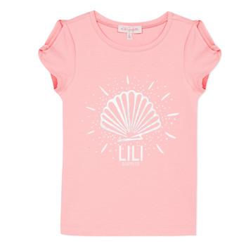 vaatteet Tytöt Lyhythihainen t-paita Lili Gaufrette KATIA Blush