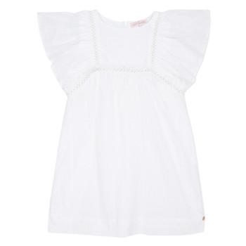 vaatteet Tytöt Lyhyt mekko Lili Gaufrette MELINA White