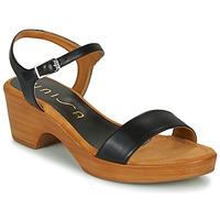 kengät Naiset Sandaalit ja avokkaat Unisa IRITA Musta