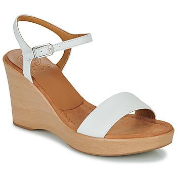 kengät Naiset Sandaalit ja avokkaat Unisa RITA Valkoinen