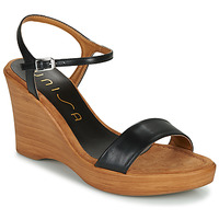 kengät Naiset Sandaalit ja avokkaat Unisa RITA Musta