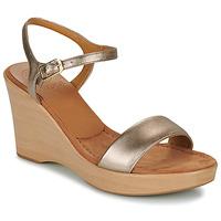 kengät Naiset Sandaalit ja avokkaat Unisa RITA Hopea