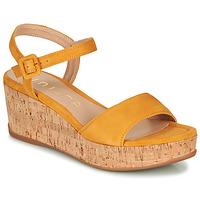 kengät Naiset Sandaalit ja avokkaat Unisa KOME Keltainen