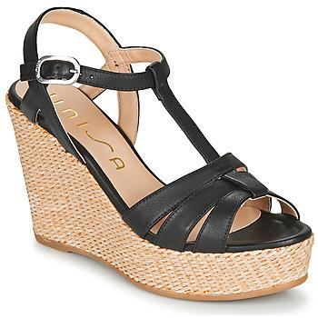 kengät Naiset Sandaalit ja avokkaat Unisa MACA Musta