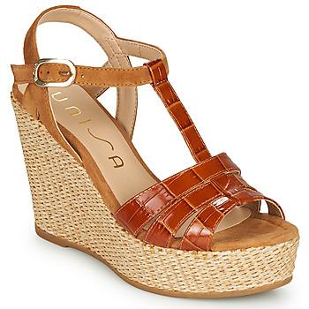 kengät Naiset Sandaalit ja avokkaat Unisa MACA Camel