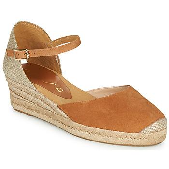 kengät Naiset Sandaalit ja avokkaat Unisa CISCA Kamelinruskea