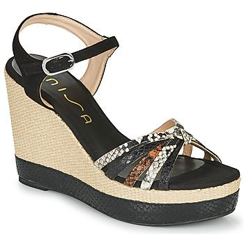 kengät Naiset Sandaalit ja avokkaat Unisa MIRELLA Black