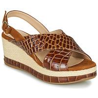 kengät Naiset Sandaalit ja avokkaat Unisa KASTRO Camel