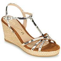 kengät Naiset Sandaalit ja avokkaat Unisa LLINAR Python