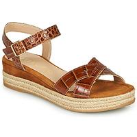 kengät Naiset Sandaalit ja avokkaat Unisa GRANADA Camel