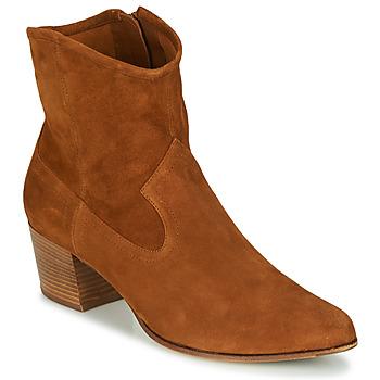kengät Naiset Nilkkurit Unisa GALVEZ Kamelinruskea