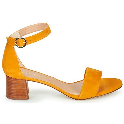 Unisa Gelete Yellow - Ilmainen Toimitus- Kengät Sandaalit Naiset 90