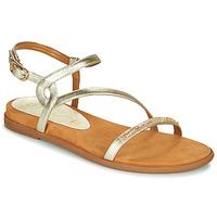 kengät Naiset Sandaalit ja avokkaat Unisa CLARIS Kulta
